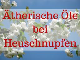 Webinar: Ätherische Öle bei Heuschnupfen
