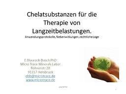 Webinar: Chelatsubstanzen für die Therapie von Langzeitbelastungen