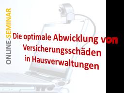 Webinar: Die optimale Abwicklung von Versicherungsschäden in Hausverwaltungen