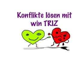 Konflikte lösen mit win TRIZ