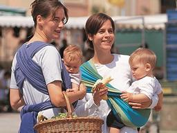 """Webinar: Praxistipps für Eltern: """"Richtiges Babytragen  Eine natürliche Art der Entwicklungsförderung"""" (Flori Hopp)"""