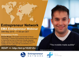 Webinar: How to be a student entrepreneur by Saverio, EM student Entrepreneur