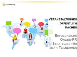 Webinar: Veranstaltungen öffentlich machen - Erfolgreiche Online-PR Strategien für mehr Teilnehmer