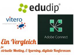 Edudip, Vitero, Adobe Connect - ein Vergleich