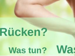 Webinar: Neue Wege bei Rückenschmerzen