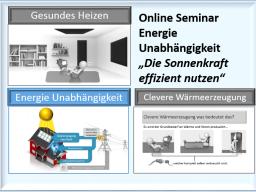 Webinar: Energieunabhängigkeit - Sonnenkraft effizient nutzen