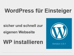 Webinar: WordPress für Einsteiger: Die Installation