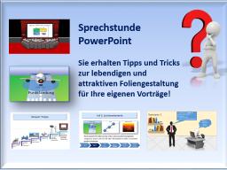 "Webinar: Einzelcoaching ""PowerPoint - Foliengestaltung"""