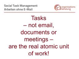 Webinar: Social Task Management (STM)