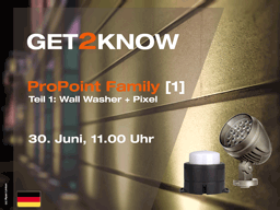 Webinar: GET2KNOW ProPoint Family [1]