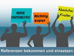 Webinar: Mehr Aufträge durch Referenzen