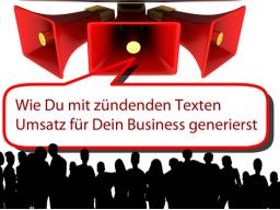 Webinar: Wie Du mit zündenden Texten mehr Umsatz für Dein Business generierst
