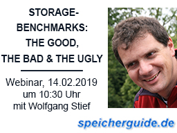 Webinar: Storage-Benchmarks  the good, the bad and the ugly
