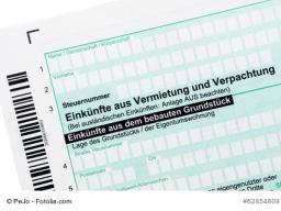 Steuererklärung (Anlage V) für die vermietete Ferienunterkunft