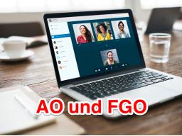 Webinar: Live-Online-Prüfungssimulation AO-FGO