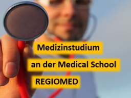 Webinar: Medizinstudium an der Medical School Regiomed und der Universität Split