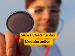 Webinar: Auswahltests für das Medizinstudium: Medizinertest und HAM-Nat